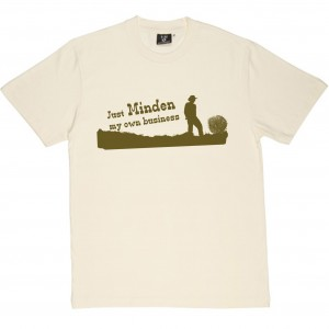 Minden NV, T-shirt, screen printing, Chris T. Wilson, Ojai