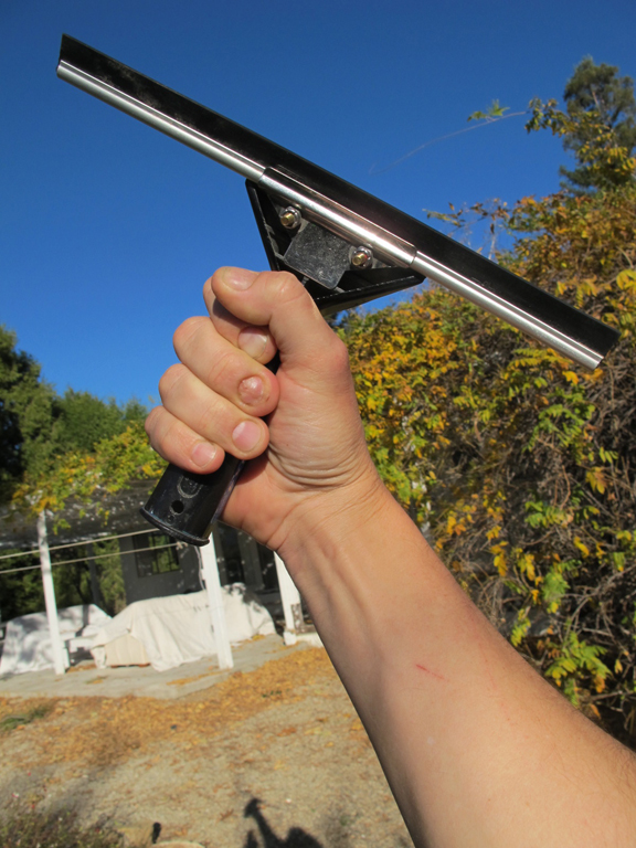 ojai window cleaning by chris wilson squeegee power squeegeelution revolution fist