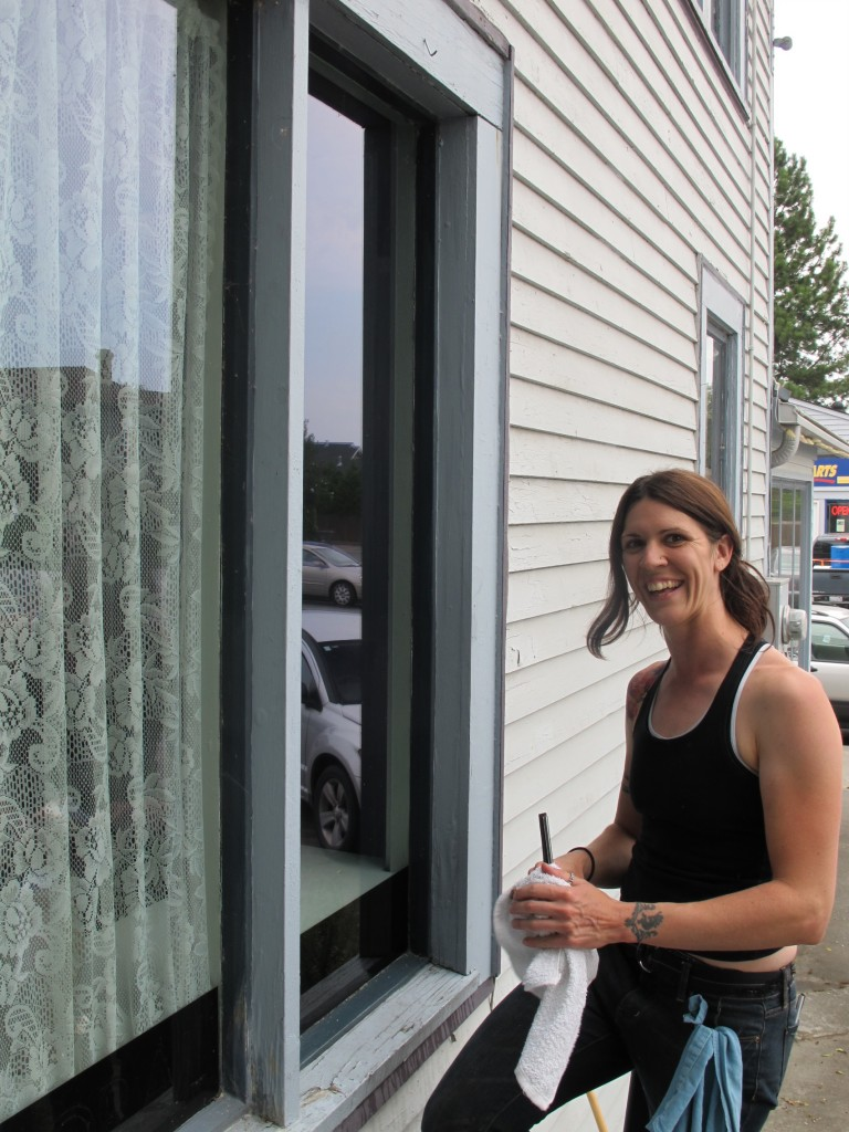 Miranda Teel, Pilchuck Glass School, Window Washer, window cleaner, La Conner, Washington