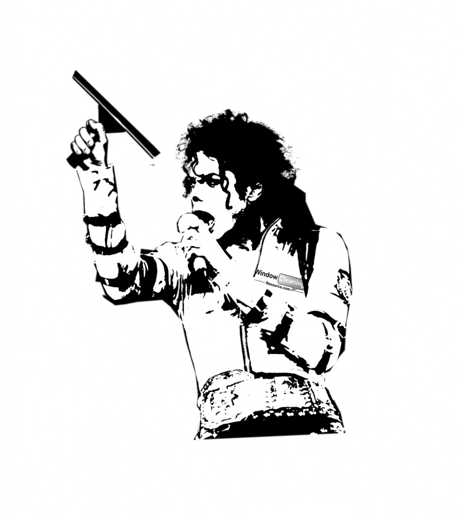 Michael Jackson, Squeegeelution, t-shirt, Window Cleaning Resource, WCR, Contest, April 2013