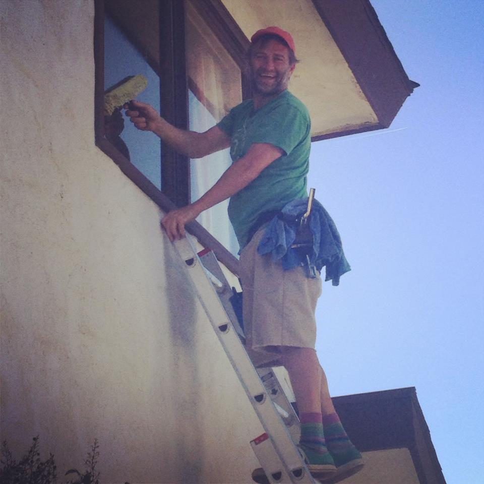 Window Washing, Ojai, California, window cleaning ojai, chris wilson, lila francese, ojai home